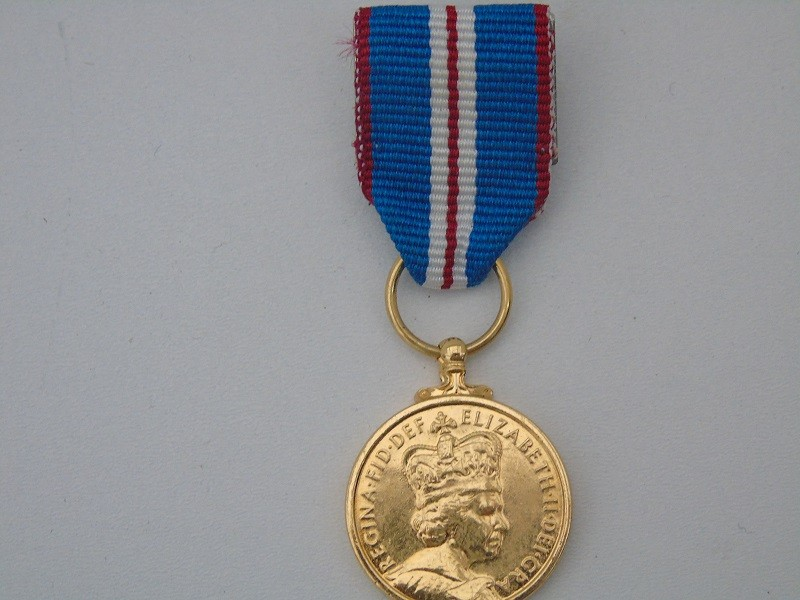 Mini Golden Jubilee Medal